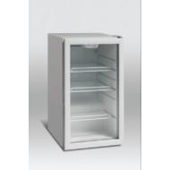 Üvegajtós hűtővitrin 105 literes