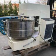 Felújított 250 literes olasz spiráldagasztó gép kivehető csészével