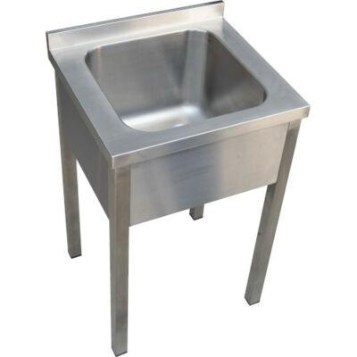 Egymedencés mosogató, 400x400x300 medence