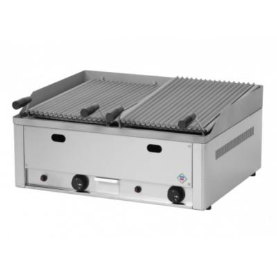 Gázüzemű lávaköves grill
