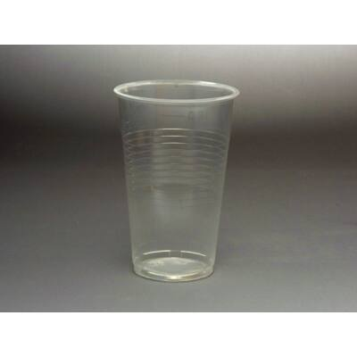 3 dl műanyag pohár, víztiszta