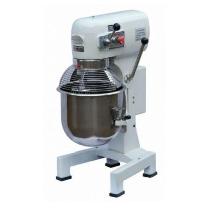 Habverő-keverő-dagasztógép 20 literes, 230 V - 1 fázis