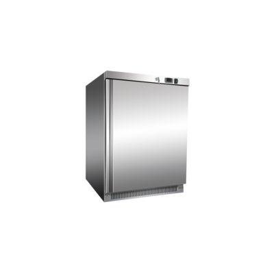 Rozsdamentes hűtőszekrény 200 literes