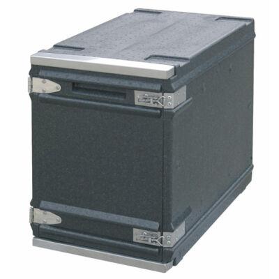 GN1/1 Frontloader thermoláda zsanéros ajtóval, 77Literes