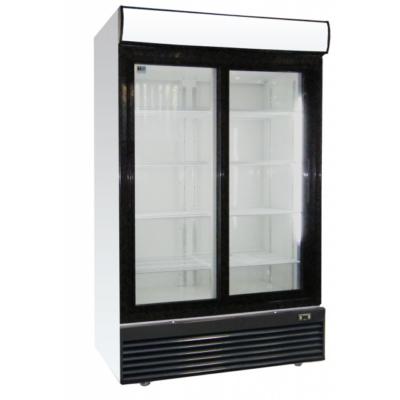 LG-1000BFS | Csúszó üvegajtós hűtővitrin