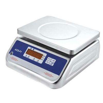 Vízálló, rozsdamentes mérleg-10kg