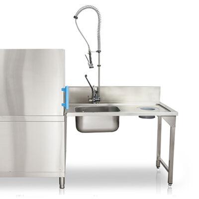 Befutóasztal mosogatógéphez