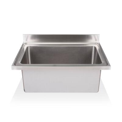Egymedencés edénymosogató fedlap 860x500x375mm