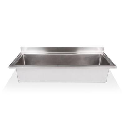 Egymedencés edénymosogató fedlap 1660x500x375mm