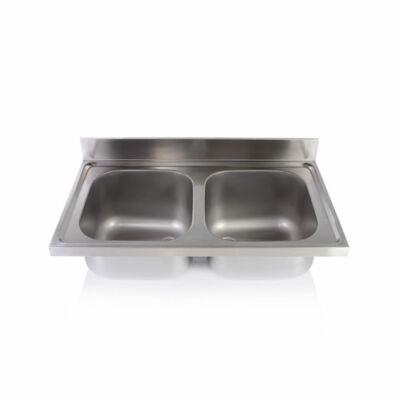 Kétmedencés mosogatófedlap 400x500x250mm