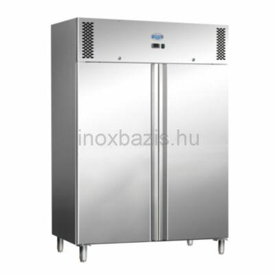 Álló hűtőszekrény inox, 1476 literes