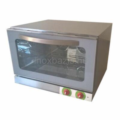 Challenger 4 tálcás kombi sütő, GN 1/1 vagy 600x400