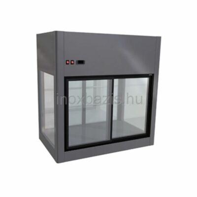 Önkiszolgálós hűtővitrin, 1500x700x1100 mm