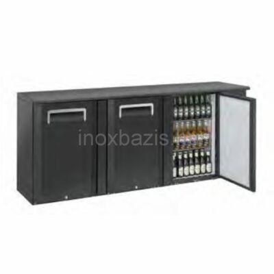 Bárhűtő 3 ajtós, 500 literes
