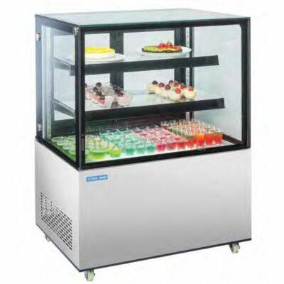 Süteményes hűtő pult, 270 literes