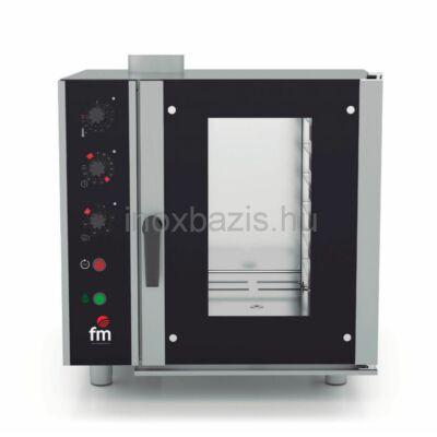 FM Kombi sütő 6 tálcás, gázos (60×40 cm vagy GN1/1)