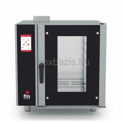 FM Kombi sütő 6 tálcás, gázos, digitális (60×40 cm vagy GN1/1)