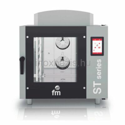 FM SMART Kombi sütő 6 tálcás digitális, gázos (60×40 cm vagy GN1/1)