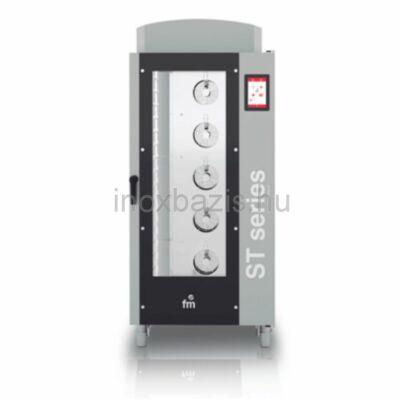 FM SMART Kombi sütő 16 tálcás digitális, gázos (60×40 cm vagy GN1/1)