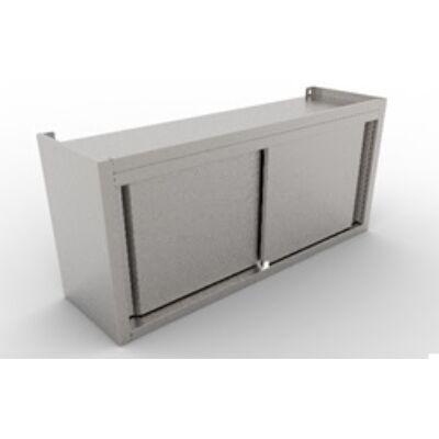Faliszekrény tolóajtóval 400 széria, 1600 mm hosszú