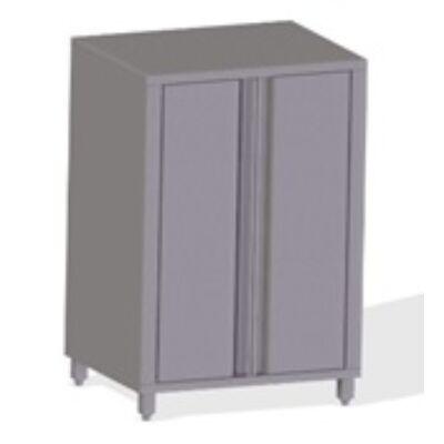 Neutrális szekrény nyíló ajtóval - 400 széria, 1400 mm hosszú