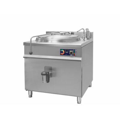 Elektromos főzőüst, 150 literes, 24kW