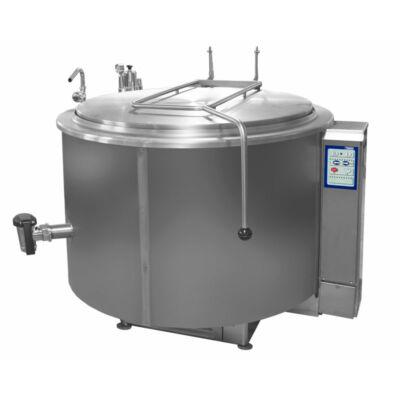 Gőzüzemű főzőüst, 500 liter
