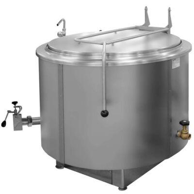 Gőzüzemű főzőüst, 200 liter