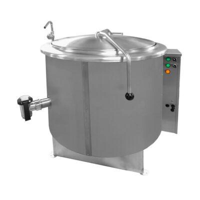 Gázüzemű főzőüst 200 literes, 31,5kW